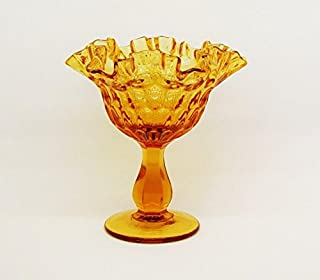 Best vintage amber depression glass candy dish Reviews