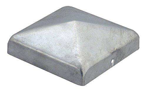 Pfostenkappe Abdeckkappe für Pfosten 9x9 verzinkt