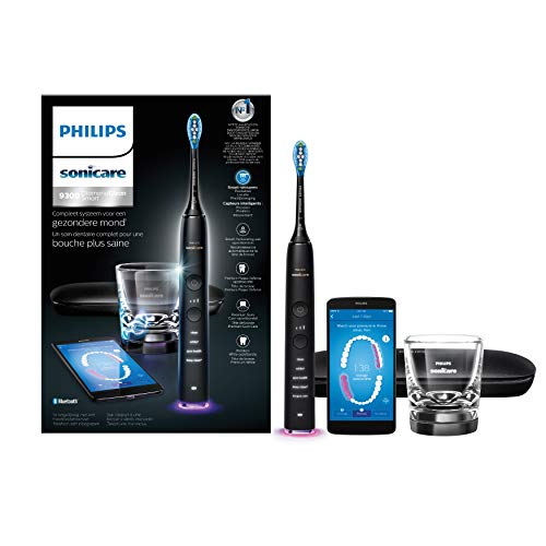 Philips Diamondclean Smart - Cepillo de dientes eléctrico inteligente, color negro mate