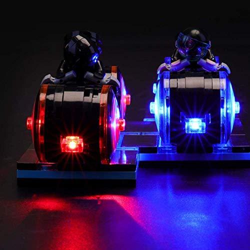 ZJJ Kit De Iluminación Compatible con Lego 21314 del LED Light Kit para (Ideas Tron Legacy) Building Blocks, (No Incluido El Modelo)