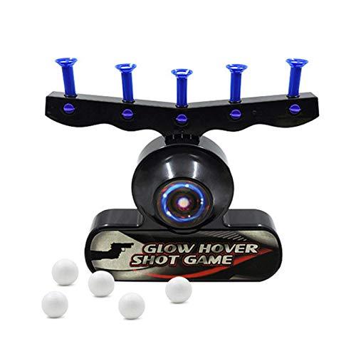 FENGLI Bola Flotante Tiro electrónico Juego Seguridad Destino Flotante Juego Hover Hover Disparo Floating Target Toys niños de 6 a 10 años (sin Pistola de Juguete)