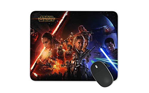 JNKPOAI Star Wars Series Animation Mouse Pad Star Wars High-Definition Printed Mouse Pad Office Anti-Slip Computer Game Mouse Pad (Star Wars#1)