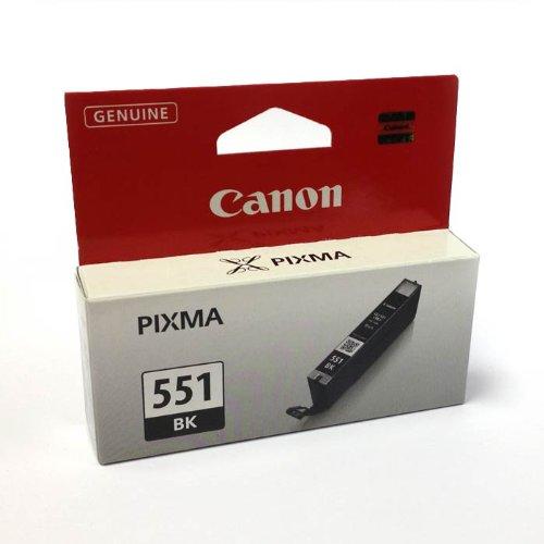 CLI-551Negro Cartucho de tinta Original Canon Pixma 551CLI551genuino Canon