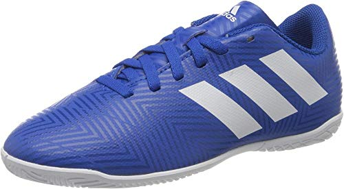 adidas Nemeziz Tango 18.4 IN J, Zapatillas de fútbol Sala Niños Unisex niño, Multicolor (Fooblu/Ftwbla/Fooblu 000), 28 EU