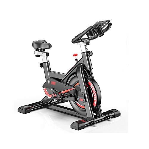 XJWWW-URG Silencio Cubierta de Bicicleta de Ejercicios Equipo de la Aptitud - Ciclo de la Bici del Ejercicio con el cómodo cojín de Asiento URG (Color : Negro)