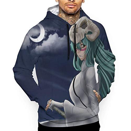 1Zlr2a0IG Anime Boy's Sports Hoodie Sweater Anime Bleach Nel Tu 3D Digital Printed Hoodie