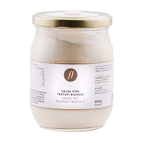 Feinkost Luigi - Trüffelsauce / Salsa mit 6% echten weißen Trüffeln (500g)