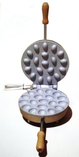 CBE 8080200 - Ferratelle NOCI biscottiera Abruzzese 19cm made in italy