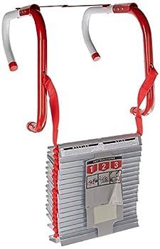 Kidde Fire Escape 3-Story Ladder 25-Foot Anti-Slip Rungs Rope Ladder