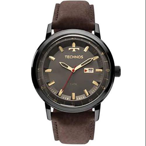 Relógio Technos Masculino Classic Golf com Pulseira de Couro 2115LAQ/2C
