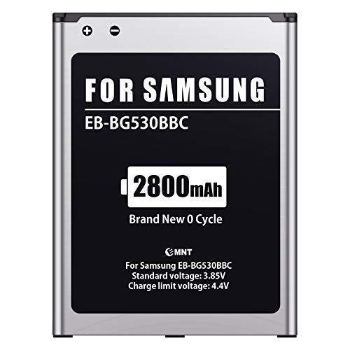 EMNT Batería para Samsung J3/J5, 2800 mAh, repuesto para Samsung Galaxy J5 2015 (SM-J500FN), Galaxy J3 2016 (SM-J320F) / Galaxy Grand Prime VE Batería original EB-BG531BBE