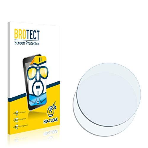 BROTECT Protector Pantalla Compatible con Garmin Forerunner 405CX Protector Transparente (2 Unidades) Anti-Huellas