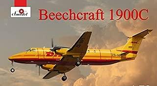PLASTIC MODEL AIRPLANE AIRLINER BEECHCRAFT 1900C DHL 1/72 AMODEL 72345