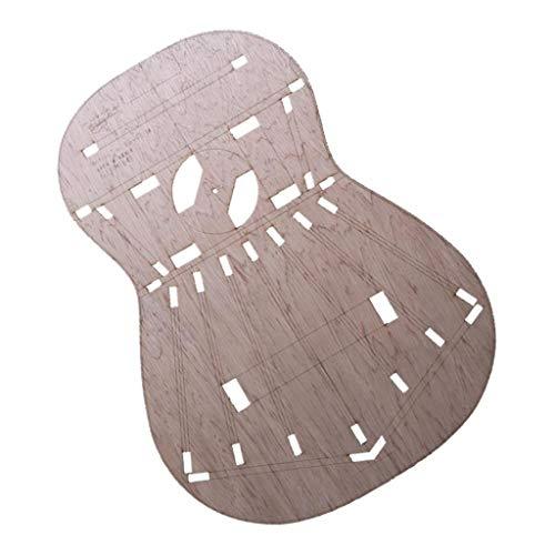 Holz Gitarren Body Template für Torres 1 Gitarre machen