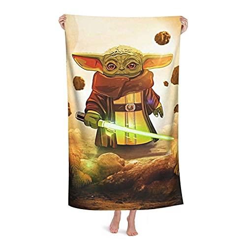 Toallas de baño de playa Star Galaxy Wars Toalla de baño de microfibra de secado rápido toalla de gimnasio suave toalla súper absorbente toalla grande para niños adultos viajes natación camping yoga 5