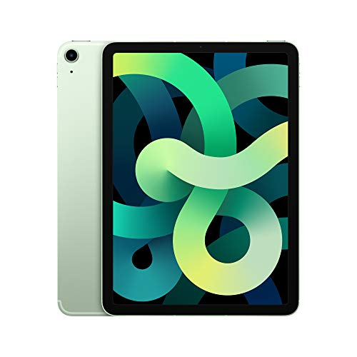2020 Apple iPadAir with A14 Bionic chip (10.9-inch/27.69 cm, Wi-Fi + Cellular, 64GB) – Green (4th Generation)
