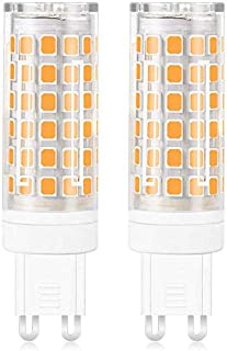 MENGS 2 Pack de G9 Bombilla LED 12W Lámpara LED Bombilla AC 220-240V, 720LM Equivalente a 95W Con Ceramics + PC (Blanco Frío)