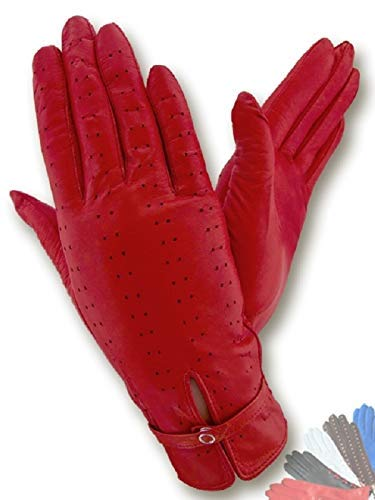 Genuine Italian Leather Gloves Cashmere Lined Winter Leather Gloves Green Leather Gloves
