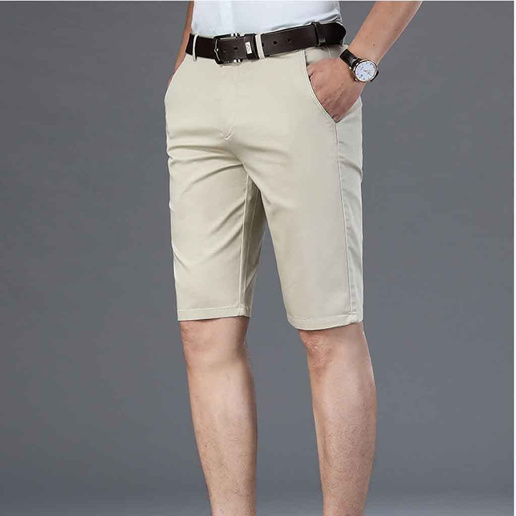 WJCCY Casual Shorts Men's 2021 Straight Stretch Busin New Cheap bargain Large-scale sale Summer