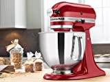 KitchenAid RRK150CA Artisan Series Stand Mixer, 5 quart, Candy Apple...