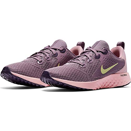 Nike Legend React (GS), Zapatillas de Deporte Mujer, Multicolor (Violet Dust/Mtlc Gold Star 500), 36 EU