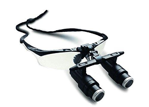 PochiDen 双眼ルーペ 拡大鏡 6.5X拡大鏡 FD-501K ポータブル拡大鏡 (6.5X)