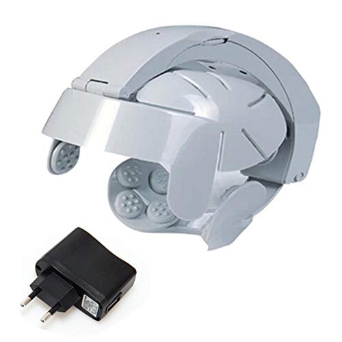 Masajeador de Cabeza eléctrico Mind Easy Device Home Brain Meridian Massage US/EU Spec Grey EU