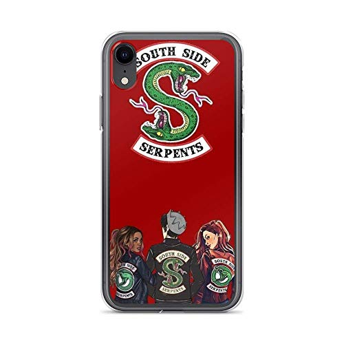 zawhz Compatible with iPhone XR Case Riverdale Archie Comics Black Logo Pure Clear Phone Cases Cover