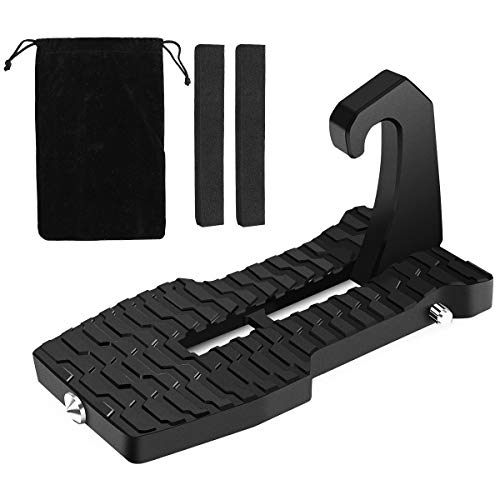 Ospetty Door Step with Safety Hammer Folding Car Door Foot Pedal Roof Cleaning Car Latch Hook Door...