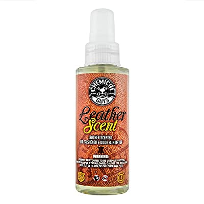 Chemical Guys AIR_102_04 Premium Air Freshener and Odor Eliminator with Leather Scent (4 oz)