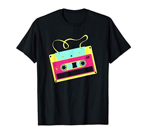 Retro Casete Mixtape Disco 90s 80s Party Camiseta