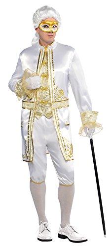Amscan International Erwachsene Casanova venezianisches Kostüm (Größe M)