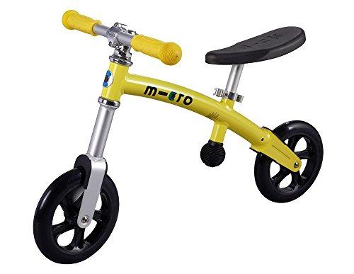 Micro Lernlaufrad G-Bike Laufrad für Kinder ab 2 Jahren in gelb