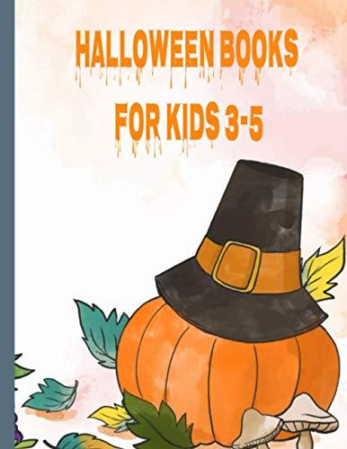 halloween books for kids 3-5: Help your little ones celebrate Halloween with this adorable coloring book that