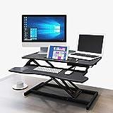 HEMFV Escritorio ergonómico para computadora Escritorio de la computadora, plegable multifunción tabla de elevación de la bandeja Banco de trabajo, que resalta Tipo de teclado textuales, ergonómico de