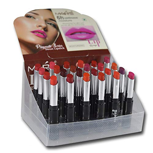 Mars Lip Rouge Playmate Series Sweet Lipstick With Laperla Kajal