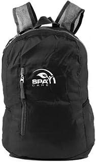 SPACARE Foldable Backpack, Black