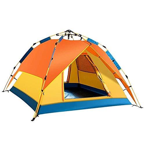 kyman Camping de campaña Camping hidráulico Puede Abrir automáticamente e iniciar la Carpa inmediatamente, Tienda Impermeable para 3-4 Personas, 200 * 180 * 115cm Tienda de campaña automática