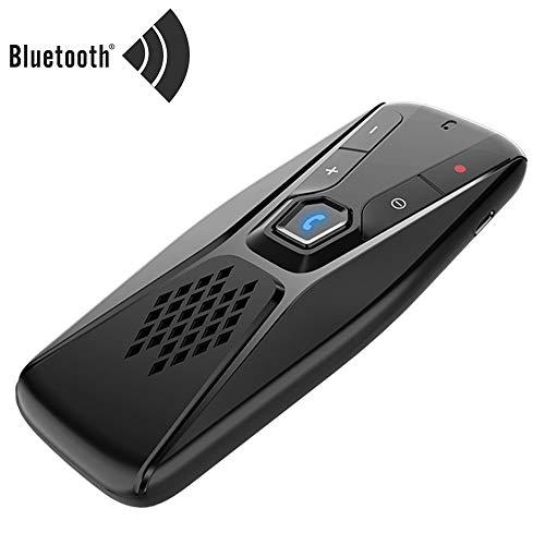 Kit Manos Libres Bluetooth Para Coche Inalámbrico Auto Speaker Parasol Reproductor MP3 Bluetooth 5.0 Con Altavoz Para El Teléfono De Manos Libres
