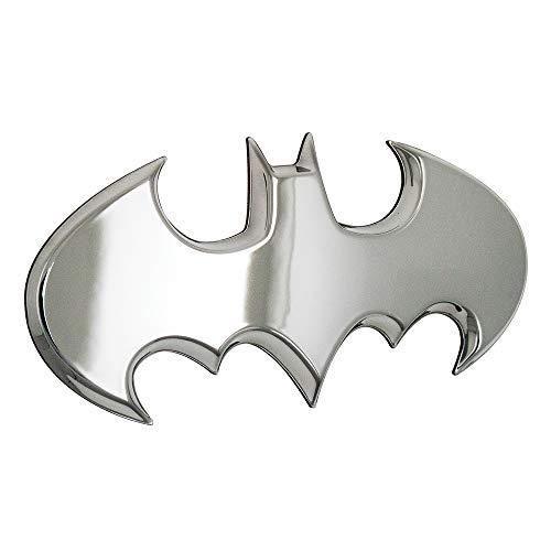 Fan Emblems Batman 3D Car Badge - 1989 Batwing Logo (Chrome)