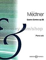 メトネル:4つのおとぎ話 Op.26/ブージー & ホークス社/ロンドン/ピアノ・ソロ