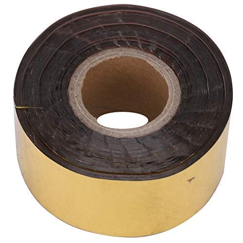 Valentine's Day PresentLamina d'oro, carta abbronzante con lamina d'oro, maggiore durata utile confortevole durata facile da usare per carta plastica dilettanti(Golden)