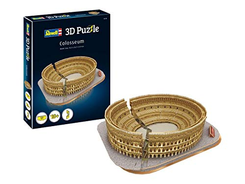 Revell-El Coliseo, Longitud 34,3cm 3D Puzzle, Multicolor (00204)