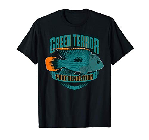 Goldsaumbuntbarsch Aquarium Zierfisch Buntbarsch Geschenk T-Shirt