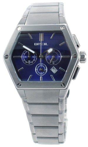 Breil Uhr TW0658 versilbert/blau 40 mm