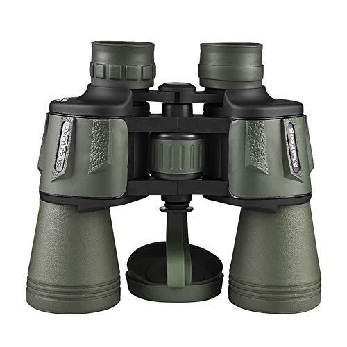 20X50 High Power Militaire Verrekijker, HD Professioneel/Dagelijks Waterdichte Verrekijker voor Volwassen Vogelspotten Reizen Voetbal - BAK4 Prism FMC Lens
