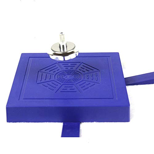 JEYKAY Miraculous Physical Magnetic Spinning Top Flying Levitation Suspended Gyro Magic UFO Floating Gyroscope Levitating Saucer Toy