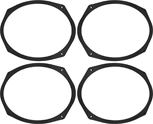 """6x9"""" Speaker Spacers Depth Extender Extending Rings - 1/4"""" thick - SSK69 - Stackable - Perfect For Framing Fiberglass Enclosures - 2 Pair"""