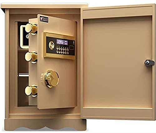 SENWEI Safes Safes - Caja de seguridad digital con teclado (39 x 36 x 59 cm), color blanco