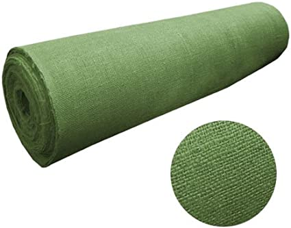 46 Wide 10oz Hunter Green Burlap by the Yard 100/% Jute